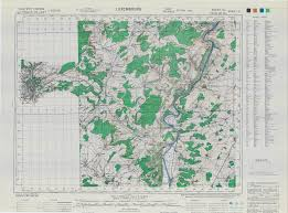 Map Of Luxembourg 83rd Infantry Division Documents Maps
