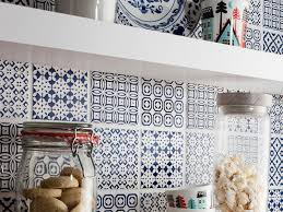 Blue Tile Kitchen Backsplash Interior Wonderful Moroccan Tile Backsplash Tile Moroccan Best