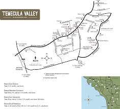Map Rose Temecula Valley Winegrowers Association Winery Map