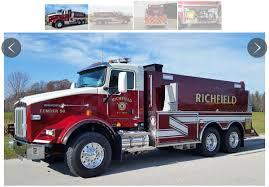 kenworth t800 truck u s tanker builds 3 000 gallon tender fire truck on kenworth t800