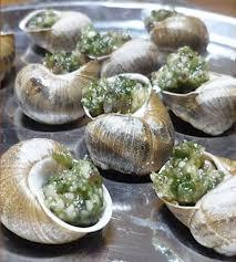 escargot cuisiné recette escargots en persillade à la catalane 750g
