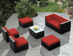 Woodbury 7 Piece Patio Dining Set - patio home depot patio cushions you need with the best value