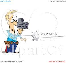 royalty free rf clip art illustration of a cartoon cop using a