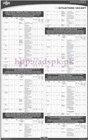 ots new career excellent fbr jobs federal board of revenue hq
