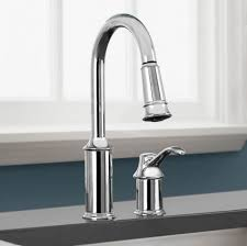 Installing Kitchen Faucet Convert Two Handle Faucet To Single Handle Kitchen Faucet Sprayer
