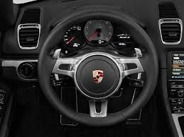 Porsche Boxster Base - 2013 porsche boxster steering wheel interior photo automotive com
