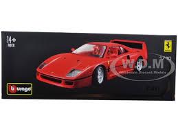 model f40 f40 original series 1 18 diecast model car bburago 16601