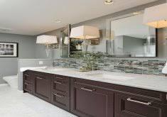 bathroom vanity backsplash home design ideas and pictures