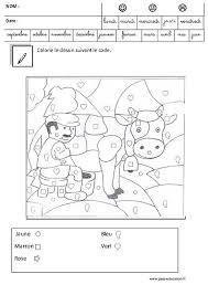 coloriage magique codé logique u2013 maternelle u2013 grande section