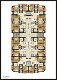 floor plan smart properties shree balaji tower at faizabad