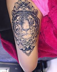 53 tiger tattoos and designs for thigh