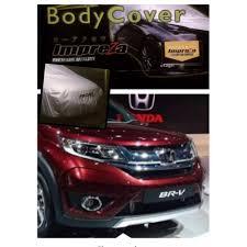 mobil honda brv impreza body cover mobil for honda brv grey harga daftar harga