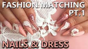 fashion matching nail art how to match your nail design to a