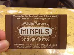 mi nails grosse pointe woods mi 48236 yp com