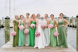 green bridesmaid dresses 5 colors bridesmaid dresses for bridesmaids fashion