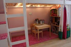 loft bed hacks mydal loftbed with play area for girl s room ikea hackers girls