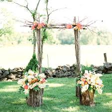 wedding arches made of branches 17 best images about wedding altar flowers on flower