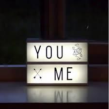 a genuine lightbox led light