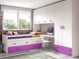 chambre fille chambre de fille ado sympa avec lit gigogne glicerio so nuit