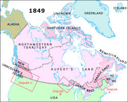 map of east canada united states what is canada e in the 1860 us federal census