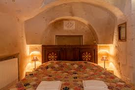 the cappadocia hotel underground cave room