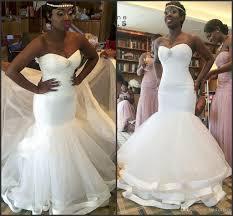 south wedding dresses 2017 ruffles organza mermaid wedding dresses bridal gowns