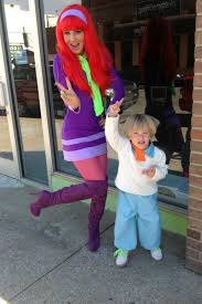 Scooby Doo Gang Halloween Costumes Mystery Gang Halloween Mommy U0026 Son Costume Fred U0026 Daphne U003c3