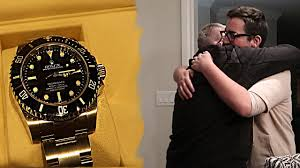 16 year old buys his dad a rolex for christmas youtube