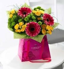 s day flowers gifts flowers 2012 summer brights gift bag s day