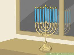 how to light a chanukah menorah 15 steps with pictures