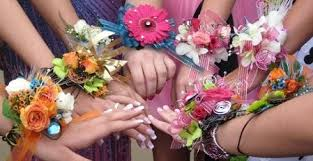 Wrist Corsages For Homecoming Prom Flowers U0026 Graduation Misty Meadow Flowers Calgary Ab