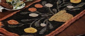 Wool Hook Rug Kits Folk U0027n U0027 Fiber Primitive Rug Hooking