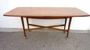 1960 drexel declaration kipp stewart mcdougell drop leaf sofa