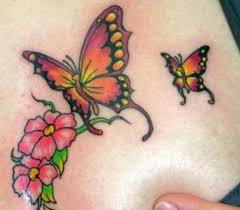 tattoos of butterflies and flowers find a