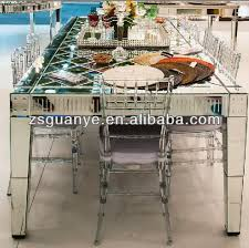Modern Mirrors For Dining Room Mirror Dining Table Modern Style Glass Furniture Buy Glass