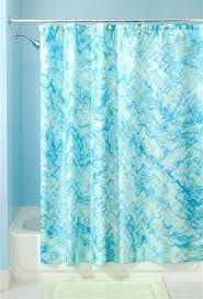 Blue And Green Shower Curtains Reiko Floral Brown Green Blue Shower Curtain New Home Classics