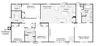 the benbrook f ml30643b manufactured home floor plan or modular