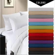 Full Size Bed Sheet Sets Aliexpress Com Buy Deep Pocket 4 Piece Bed Sheet Set Solid