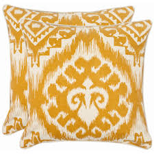 Home Decorators Pillows Home Decorators Collection Printed Tan Burlap Safari Pillow