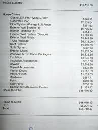 house building estimates house plans building plans with cost to build