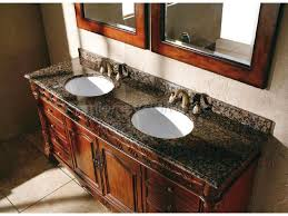 Granite For Bathroom Vanity Bathroom Traditional Bathroom Vanity With Brown Wooden Materials