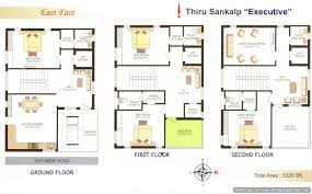 100 triplex house plans row house 2 bedroom plans row free