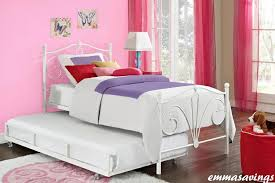 Girls White Twin Bed Twin Bed Frame For Girls Home Bedroom Beds With Storage Decorate