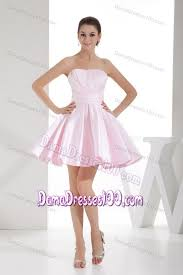 light pink dama dresses ruchings a line dresses for damas in baby pink