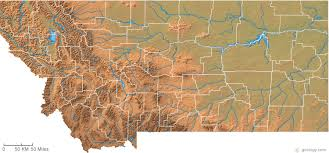 montana maps montana physical map and montana topographic map