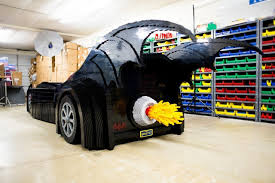 batman car lego this life size lego batmobile is unbelievable ign