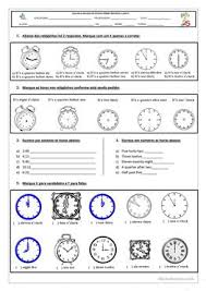 384 free esl time worksheets