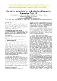 Seeking Episodes List Usefulness As The Criterion For Pdf Available