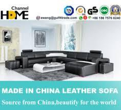 canap forme u un mobilier moderne forme en u canapé en cuir pour la maison de la
