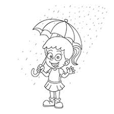 10 free printable rain coloring pages
